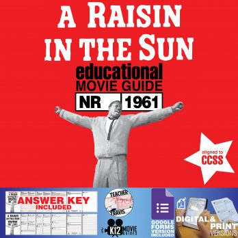 A Raisin in the Sun Movie Guide | Questions | Worksheet | Google (NR - 1961) Cover