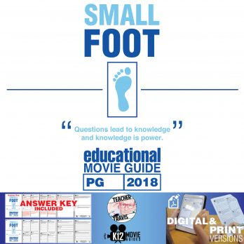 Smallfoot Movie Guide | Questions | Worksheet (PG - 2018) Cover