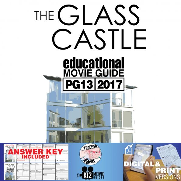 The Glass Castle Movie Guide | Questions | Worksheet (PG13 - 2017) Cover