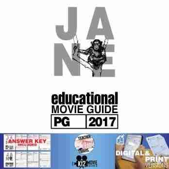 Jane Movie Guide [Jane Goodall Documentary] (PG - 2017) Cover