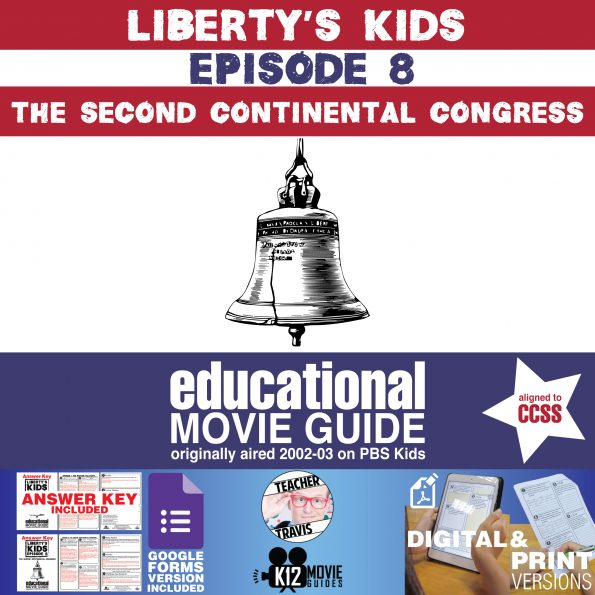 Liberty's Kids | The Second Continental Congress Episode 8 (E08) - Movie Guide Cover