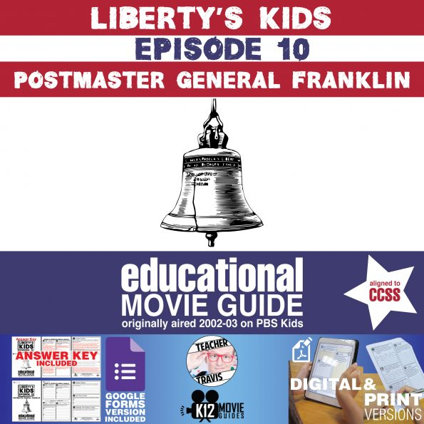 Liberty's Kids | Postmaster General Franklin Episode 10 (E10) - Movie Guide Cover