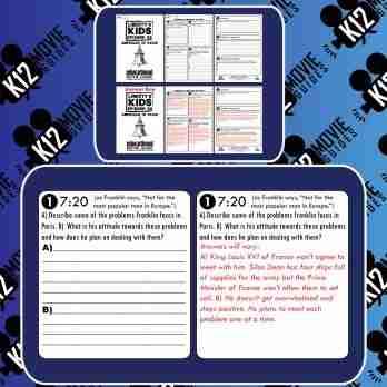 Liberty's Kids | American in Paris Episode 20 (E20) - Movie Guide | Worksheet Free Sample