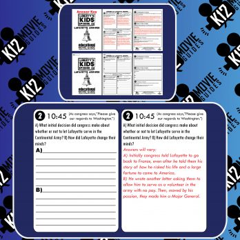 Liberty's Kids - The First Fourth of July (E13) - Movie Guide | Worksheet Sample