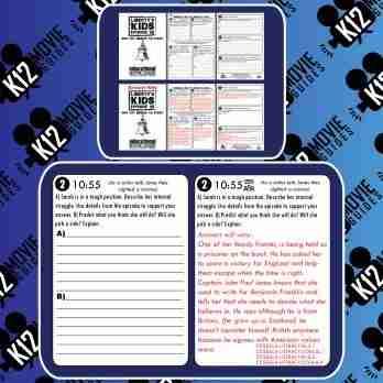 Liberty's Kids - Crossing the Delaware (E19) - Movie Guide | Worksheet Free Sample