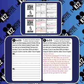 Liberty's Kids | Bunker Hill Episode 9 (E09) - Movie Guide | Worksheet | Google Free Sample