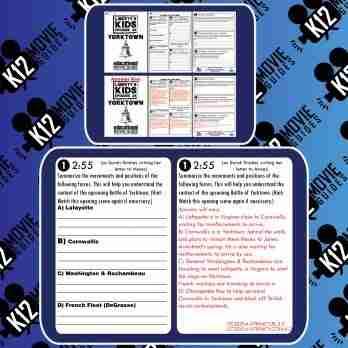 Liberty's Kids | Yorktown Episode 36 (E36) - Movie Guide | Worksheet Free Sample