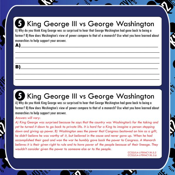 Liberty's Kids | The Man Who Wouldn't be King (E38) - Movie Guide | Worksheet Free Sample