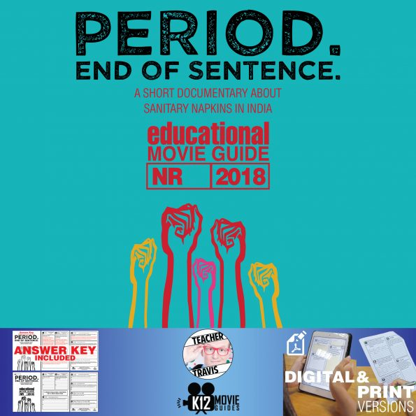Period. End of Sentence Movie Guide | Questions | Worksheet (NR - 2018) Cover