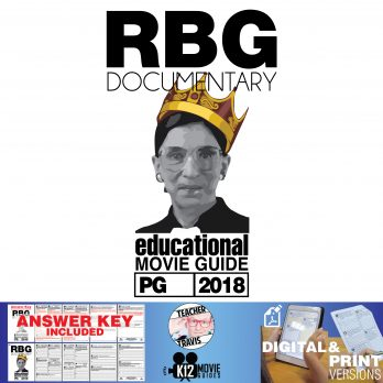 RBG - Ruth Bader Ginsburg Documentary Movie Guide | Worksheet (PG - 2018) Cover