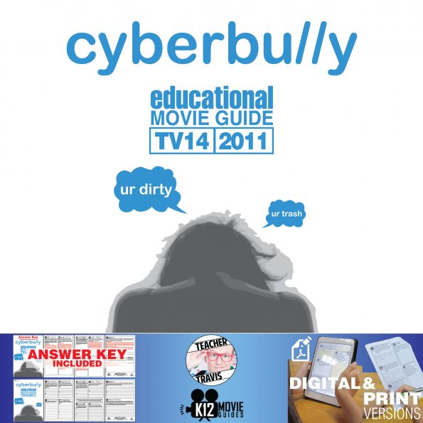Cyberbully Movie Guide | Questions | Worksheet (TV14 - 2011) Cover