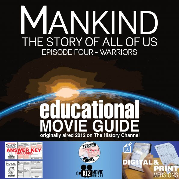 Mankind the Story of All of Us (2012) Warriors (E04) Documentary Movie Guide Cover