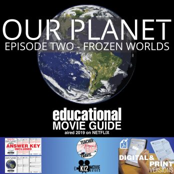 Our Planet Documentary Series (E02) Frozen Worlds (G - 2019) Cover