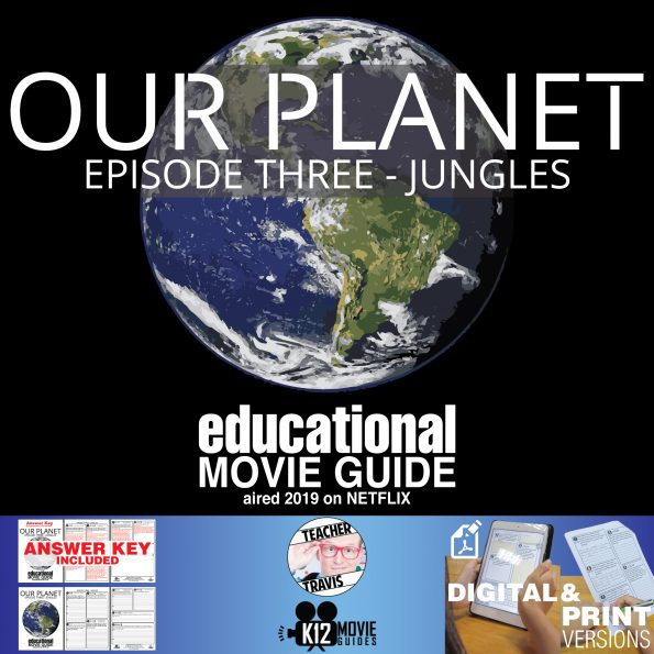 Our Planet Documentary Series (E03) Jungles (G - 2019) Cover