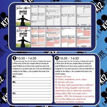 The Sound of Music Movie Guide | Questions | Worksheet (G - 1965) Free Sample