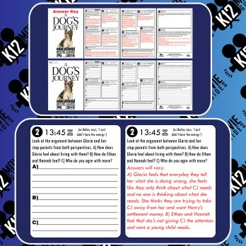 A Dog's Journey Movie Guide | Questions | Worksheet (PG - 2019) Free Sample