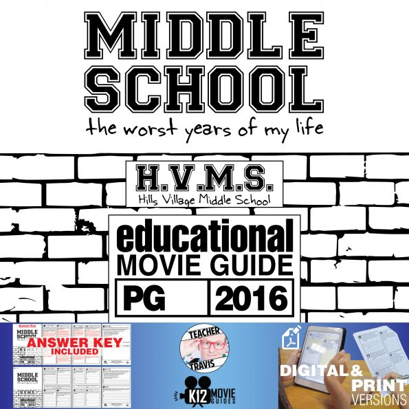 Middle School: The Worst Years of My Life Movie Guide | Questions (PG - 2016) Cover