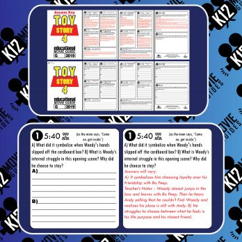 Toy Story 4 Movie Guide   Questions   Worksheet   Google Classroom (G - 2019) Sample
