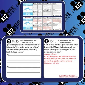 Abominable Movie Guide   Questions   Worksheet (PG - 2019) Free Sample