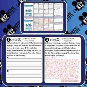 Monsters University Movie Guide | Questions | Worksheet (G - 2013) Free Sample