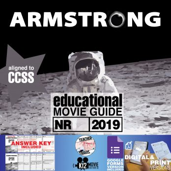 Armstrong Documentary Movie Guide | Questions | Worksheet (NR - 2019) Cover