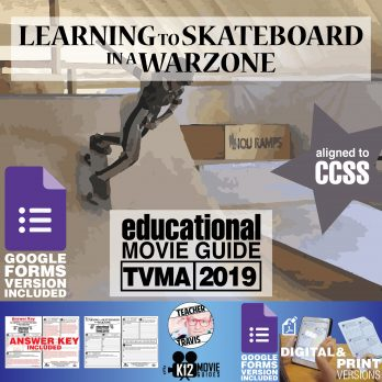 Learning to Skateboard in a Warzone Documentary Movie Guide | Worksheet (2019) Cover