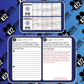 Frozen II Movie Guide | Questions | Worksheet (PG - 2019) Free Sample