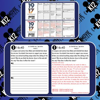 1917 Movie Guide   Questions   Worksheet (R - 2019) Free Sample