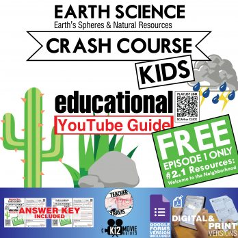 Crash Course Kids - Welcome to the Neighborhood (#2.1) Free Youtube Guide Cover
