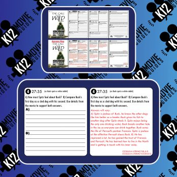 Call of the Wild Movie Guide | Questions | Worksheet | Answer Key (PG - 2020) Free Sample