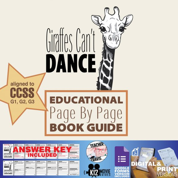 Giraffes Can't Dance Read Aloud Book Guide Cover