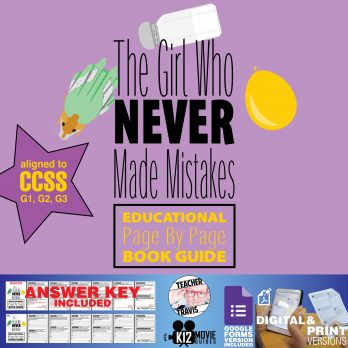 Girl Who Never Made Mistakes Read Aloud Book Guide Cover