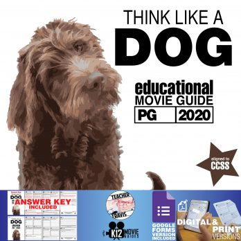 Think Like a Dog Movie Guide | Questions | Worksheet | Google Forms (PG - 2020) Cover