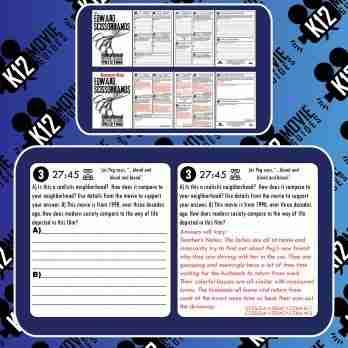 Edward Scissorhands Movie Guide   Questions   Worksheet   Google (PG13 - 1990) Free Sample