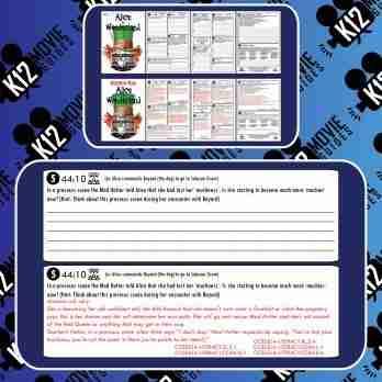 Alice in Wonderland Movie Guide | Questions | Worksheet | Google (PG - 2010) Free Sample