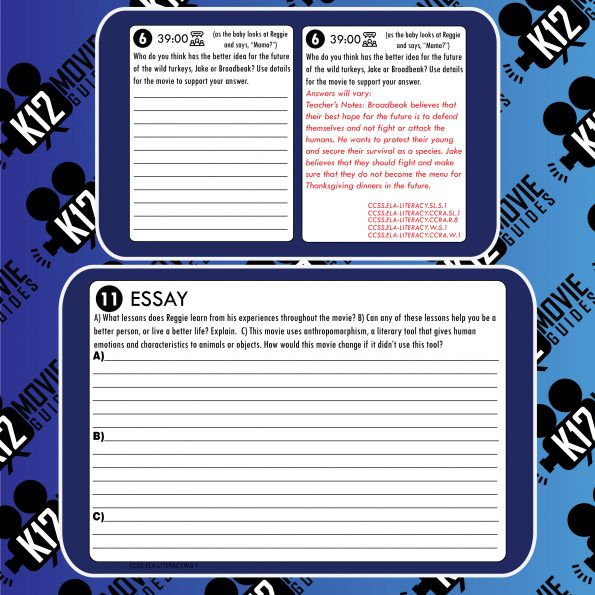 Free Birds Movie Guide | Questions | Worksheet | Google Forms (PG - 2013) Free Sample