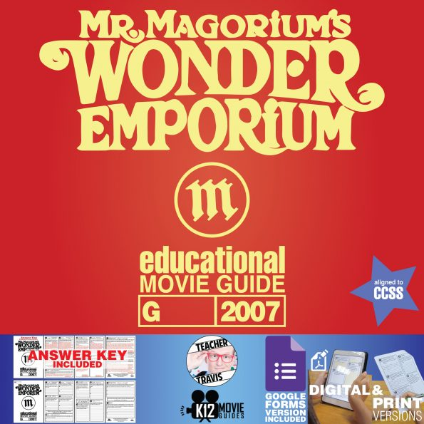 Mr. Magorium's Wonder Emporium Movie Guide | Questions | Google (G - 2007) Cover