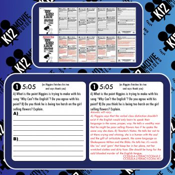 My Fair Lady Movie Guide   Questions   Worksheet   Google Forms (G - 1964) Free Sample