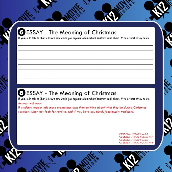 A Charlie Brown Christmas (1965) Movie Viewing Guide | Worksheet | Google Form Free Sample