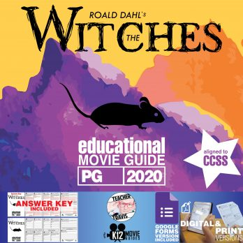 The Witches Movie Guide | Questions | Worksheet | Google Forms (PG - 2020) Cover