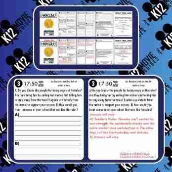 Hercules Movie Guide | Worksheet | Questions | Google Form (G - 1997) Free Sample