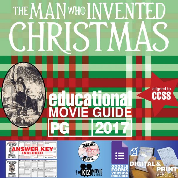 The Man Who Invented Christmas Movie Guide | Questions | Google (PG - 2017) Cover