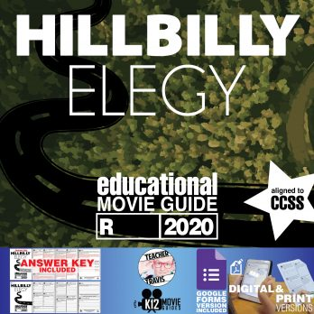 Hillbilly Elegy Movie Guide | Worksheet | Questions | Google Form (R - 2020) Cover