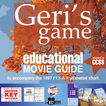 Geri's Game (1997) - Pixar Short Video Guide | Questions | Worksheet | Google | Cover