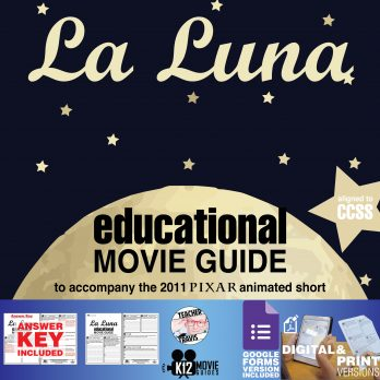 La Luna (2011) - Pixar Short Video Guide | Questions | Worksheet | Google Form | Cover