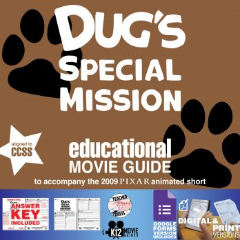 Dug's Special Mission (2009) - Pixar Short Video Guide | Questions | Worksheet | Google Form | Cover
