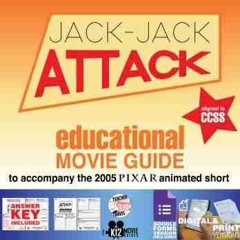 Jack-Jack Attack (2005) - Pixar Short Video Guide | Questions | Worksheet | Google Form | Cover