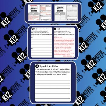 Jack-Jack Attack (2005) - Pixar Short Video Guide | Questions | Worksheet | Google Form | Sample