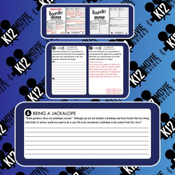 Boundin' Pixar Short Video Guide | Questions | Worksheet | Google Form (2003) Sample