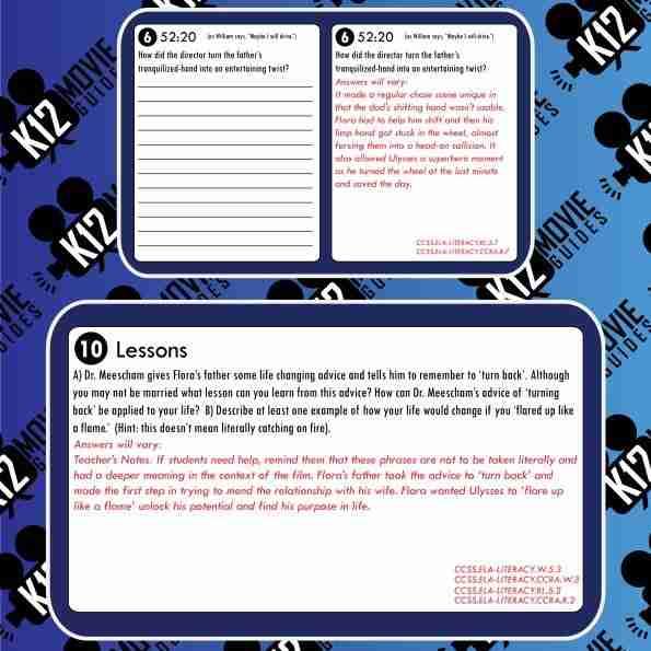 Flora & Ulysses Movie Guide | Worksheet | Questions | Google Form (PG - 2021) Sample